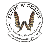 Flyin' W Design Establish Logo