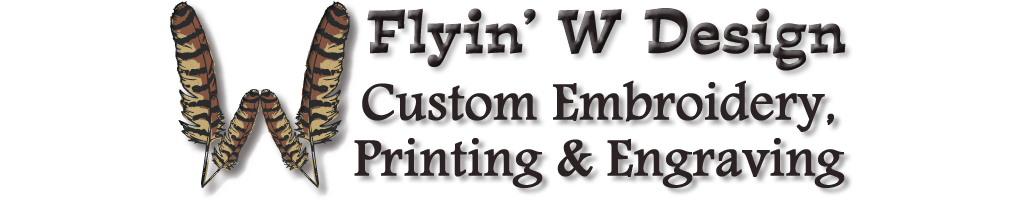 Flyin' W Design Logo